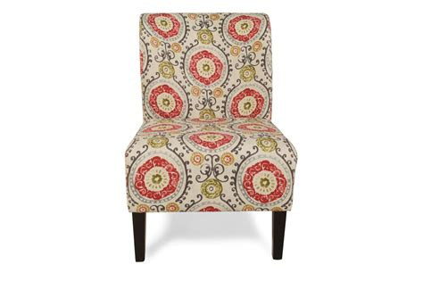 Floral Accent Chair Honnally Floral Accent Chair Mathis Brothers Furniture