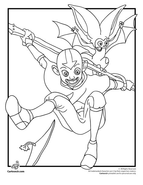 Avatar Coloring Pages by Avatar Color Pages Coloring Home