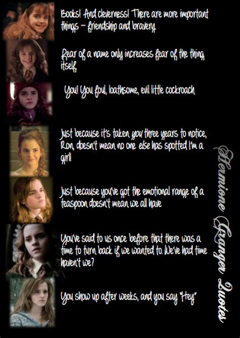 Hermoine Granger Quotes by Hermoine Quotes