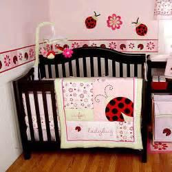 Kidsline Ladybug Crib Bedding Li L By Kidsline Ladybug Bedding Set 3pc Value Bundle Walmart
