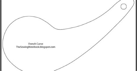 printable french curve ruler the sewing notebook free