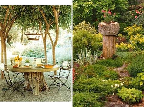Decorative Tree Stumps by 30 Budget Backyard Diy Ideas That Will Make Your Neighbors