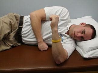 Sleeper Stretches by Blue Bell Physical Therapy Blue Bell Pa Sleeper Stretch