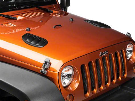 Jeep Wrangler Vents Daystar Wrangler Side Vents Kj71048bk 07 17 Wrangler