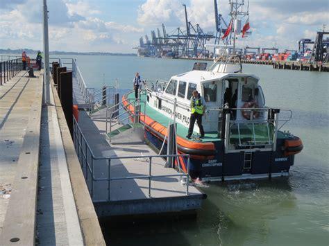 port boat pilot boat pontoons for the port of felixstowe