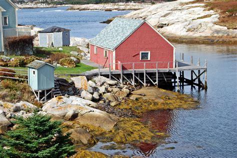 canada turisti per caso la casetta pescatore peggy s cove canada viaggi