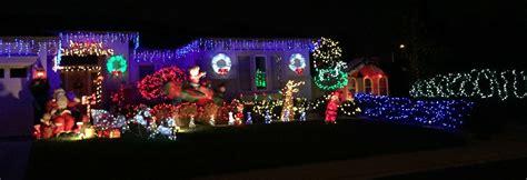 driving christmas lights in roseville via kaye swain