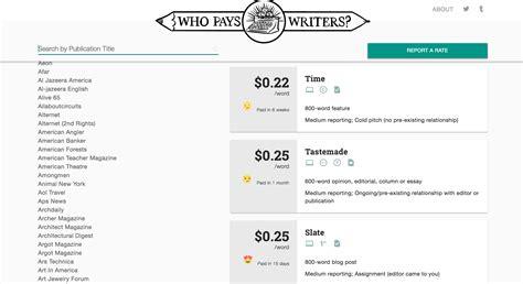 freelance website writer rates