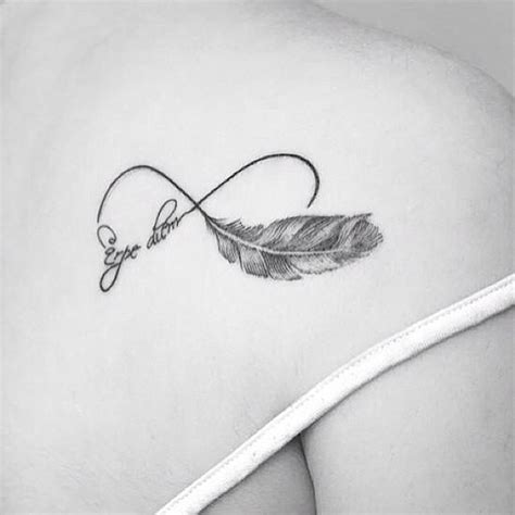 infinity symbol with feather infinity with feather by bhanushali at aliens