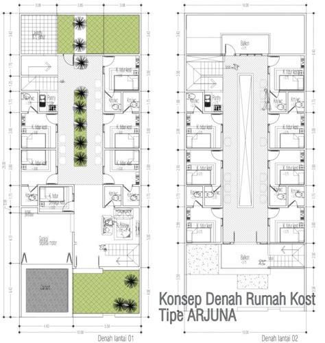 pin  rhafi dilla  kost   house design house plans apartment floor plans