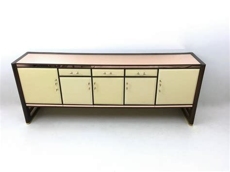 sideboard pink wood and pink mirror sideboard 1940s for sale at 1stdibs