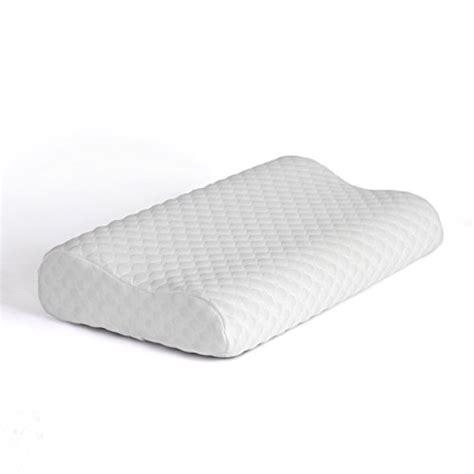 neck bed pillow bedsure bed pillow cervical contour memory foam pillow
