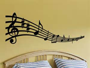 Music Wall Decor by Wall Decal Sticker Musical Notes For Any Room By Vgwalldecals
