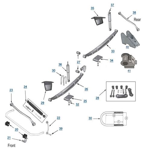 jeep suspension diagram yj wrangler replacement suspension 4 wheel drive