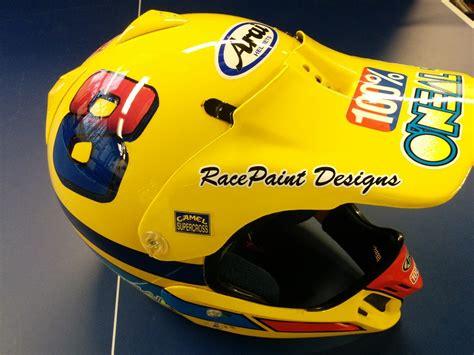 motocross helmet painting vintage arai helmet paint moto motocross