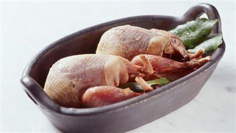 bbc food quail recipes