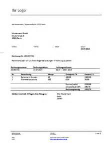 Rechnungsvorlagen Muster Kostenlose Rechnungsvorlagen Und Muster F 252 R Ihre Rechnungen Deskmeister