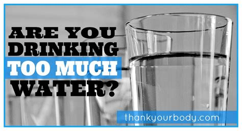 drinks much water much water is it possible