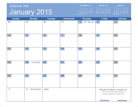 2015 calendar templates free 2015 calendar templates and images