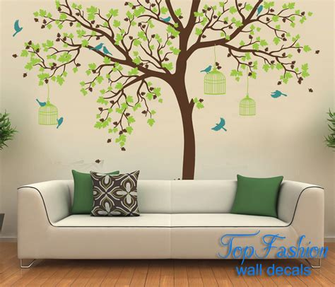 wall tattoos wall mural decals tree peenmedia