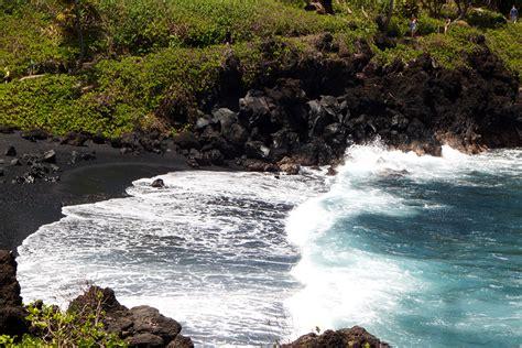 black sand beach big island big island hawaii insider s travel guide
