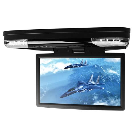 ceiling mounted dvd players for cars 15 6 car roof mounted dvd player with 32 bits flip
