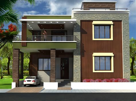 Modern Home Design Enterprise | modern duplex house plans blueprints modern house design taking a look at modern duplex house