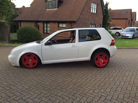 slammed volkswagen golf car golf gti vw golf mk4 air ride slammed