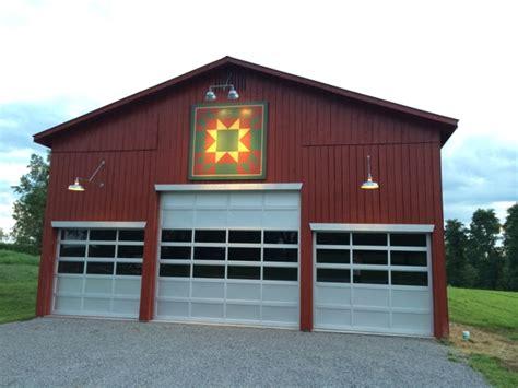 pole barn exterior lighting gooseneck barn lighting brings focus to kentucky barn