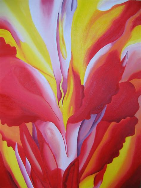 red canna  georgia okeeffe facts history