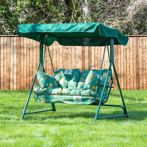 replacement cushions for swings alfresia luxury garden swing seat cushions 2 seater ebay