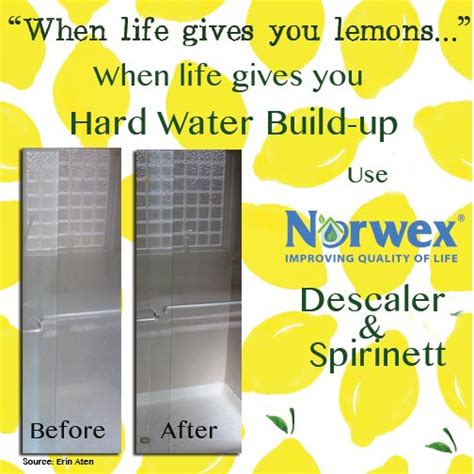 shower doors hard water   works  pinterest