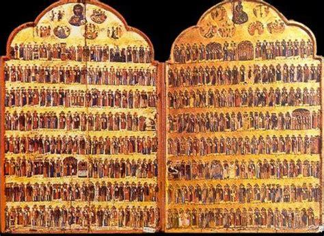 tavole liturgiche le icone menologiche il tempo raccontato dai i