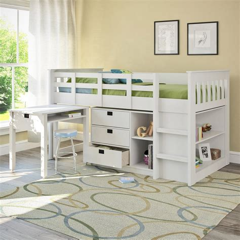 white bunk bed with desk cool bunk bed desk combo ideas for sweet bedroom