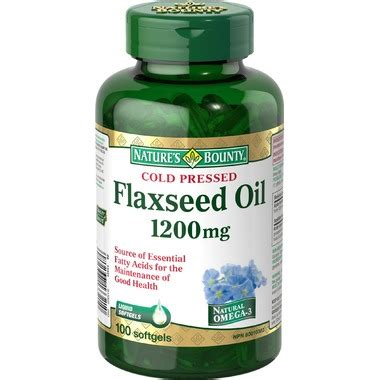 Flaseed Natures Bounty buy nature s bounty flaxseed at well ca free shipping 35 in canada
