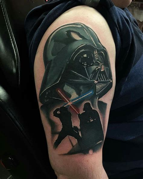 darth vader thigh tattoo geeky tattoos fandom star wars a collection of ideas to try about geek