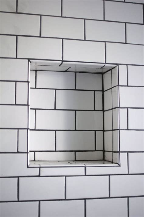 Recessed Shower Shelves by Diy Renovation Project How To Build A Recessed Shower