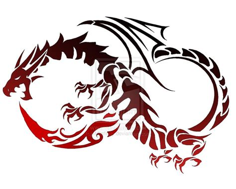 tattoo infinity dragon dragon tattoo by iminfinity on deviantart
