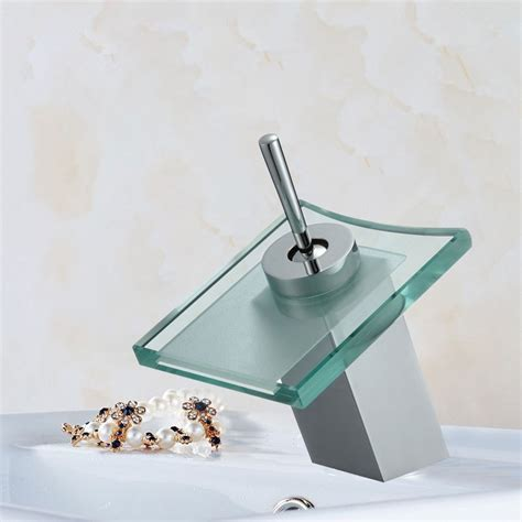 Waterfall Faucet Canada by Basin Sink Waterfall Faucet Brass With Chrome Finish
