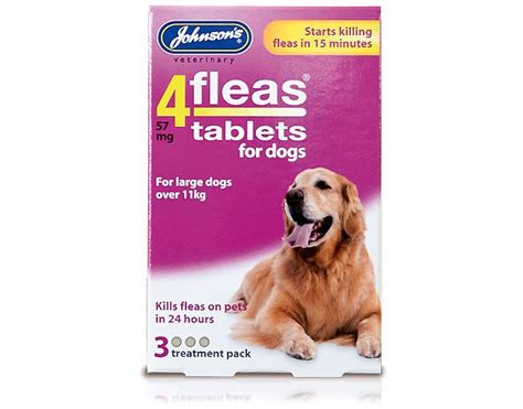 flea pill for dogs 4 fleas flea tablets for dogs 11kg