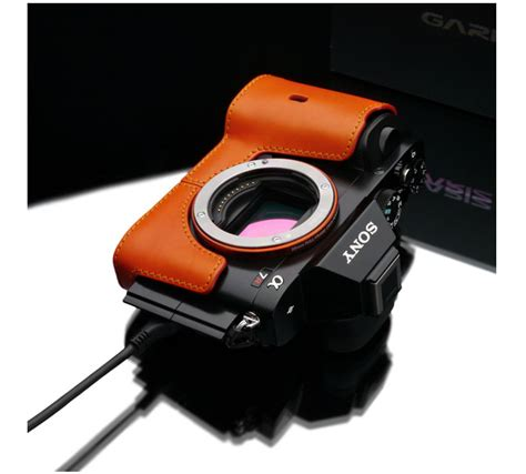 New Gariz Half Sony Xs Cha6000r gariz xs cha7or genuine leather half orange for sony a7 a7r ebay
