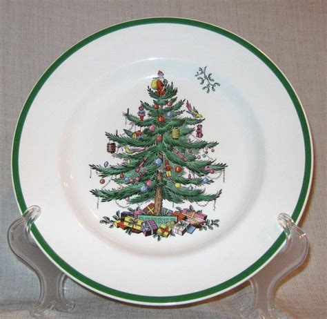 spode christmas tree dinner plate made in england ebay