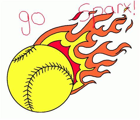 softball color softball coloring page