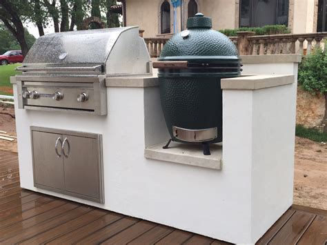 stucco outdoor kitchen ember ember outdoor kitchens