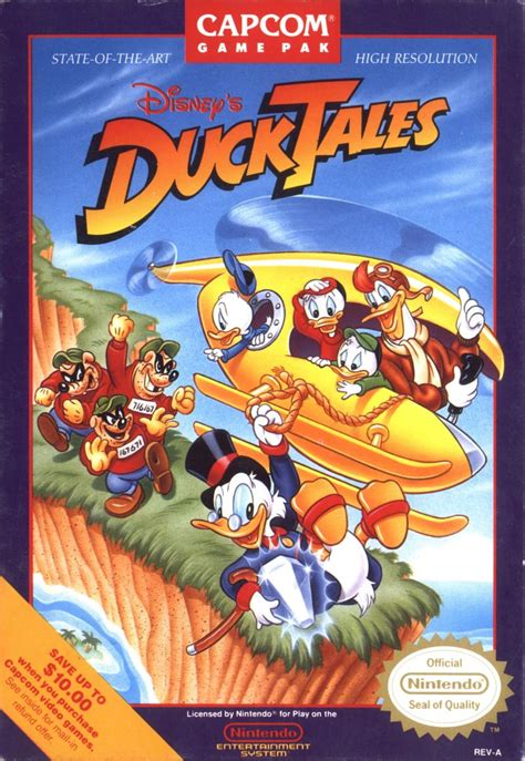 disney s ducktales 1989 nes box cover mobygames