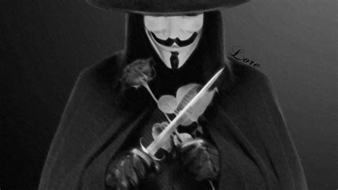 Drawing V For Vendetta by V For Vendetta Draw By Artloredesing On Deviantart