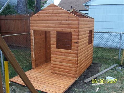 Cabin Ideas Build A Log Cabin Playhouse For Under 300 Playhouses