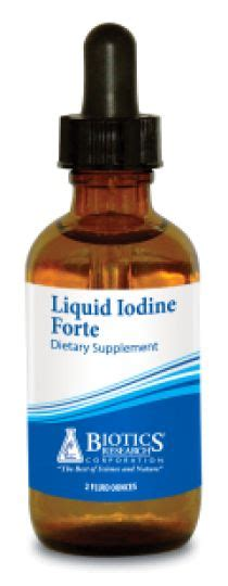 Iodine Detox Headache by Liquid Iodine Forteto Support Thyroid And Ovary Function
