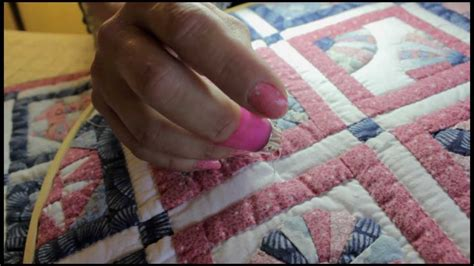 Hand Quilting Tutorial For Beginners | hand quilting for beginners the rocking motion knot