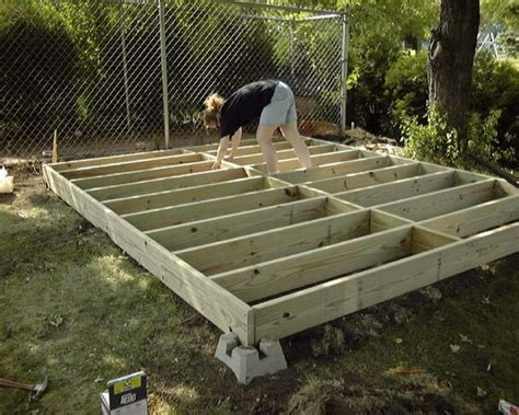 garden shed foundation outdoor shed foundation